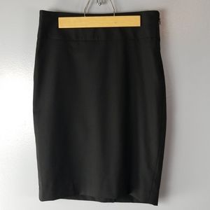 The Limited Black Collection Gray Pencil Skirt sz0